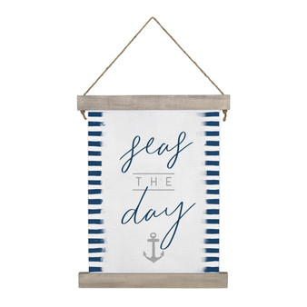 Seas The Day - Hanging Canvas
