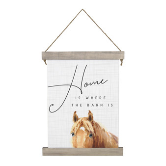Home Barn - Hanging Canvas
