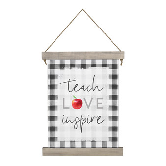 Teach Inspire - Hanging Canvas
