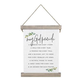 May God Provide - Hanging Canvas