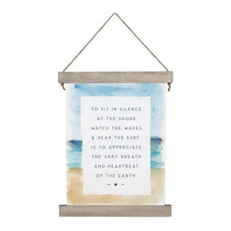 To Sit In Silence - Hanging Canvas