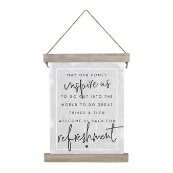 Homes Inspire Us - Hanging Canvas
