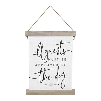 All Guests PER - Hanging Canvas