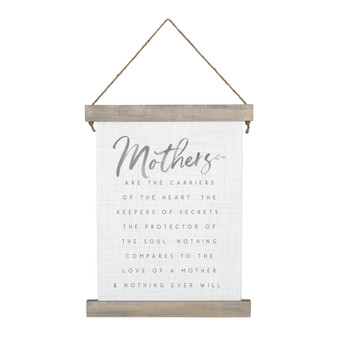 Mothers The Carriers - Hanging Canvas