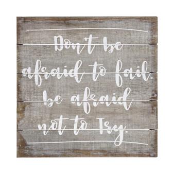 Dont Be Afraid - Perfect Pallet Petite