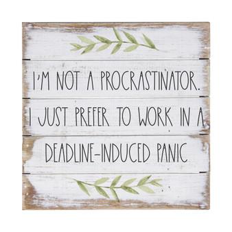 Not a Procrastinator - Perfect Pallet Petite