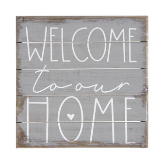Welcome To Home - Perfect Pallet Petites