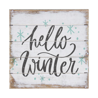 Great Hello Winter- Perfect Pallet Petite