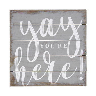 Yay Youre Here - Perfect Pallet Petites