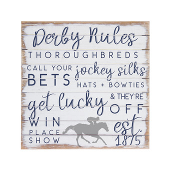Derby Rules - Perfect Pallet