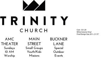 Trinity Exterior Door Vinyl