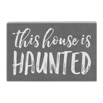 House Is Haunted - Small Talk Rectangle