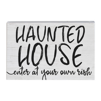 Haunted House - Small Talk Rectangle
