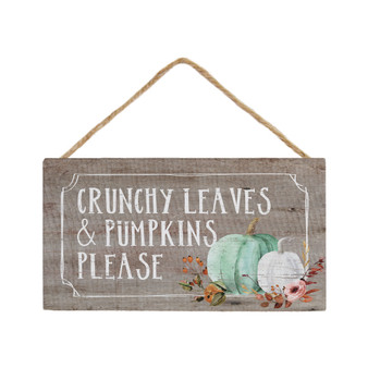 Crunchy Leaves - Petite Hanging Accent