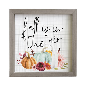 Fall In The Air - Rustic Frame