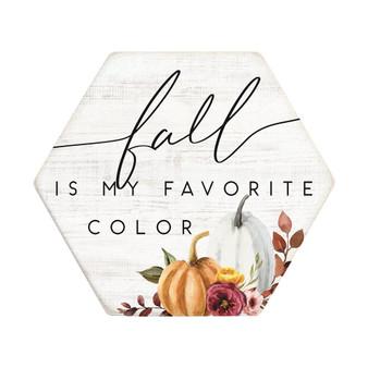 Fall Color - Honeycomb Coasters