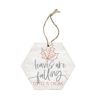 Leaves Falling Coffee - Ornament