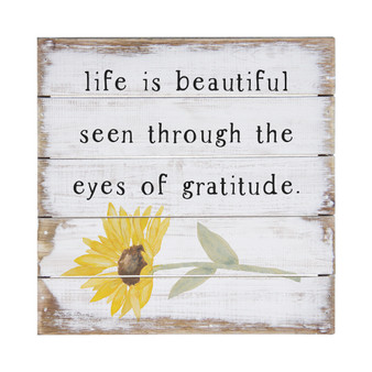 Eyes of Gratitude Sunflower - Perfect Pallet Petites