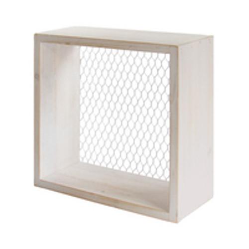 Small Farmhouse Box Shelf - LS1001