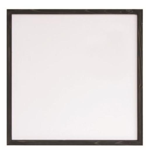 Rustic Frame Square Black24Š— x 24Š— Design Area 22Š— x 22Š—