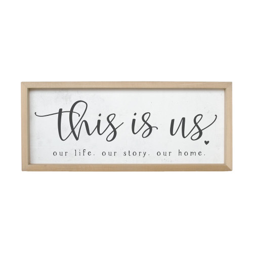 This Is Us Farmhouse Frame Simply Said