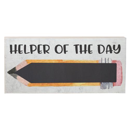 Helper of the Day PER - Chalk Talk