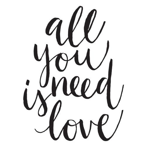 All You Need Is Love - Mini Design