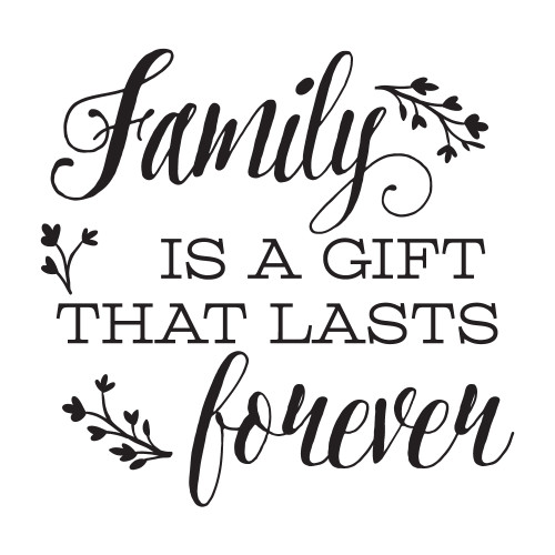 A Gift That Lasts Forever - Square Design