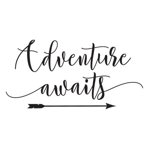 Adventure Awaits - Wall Design