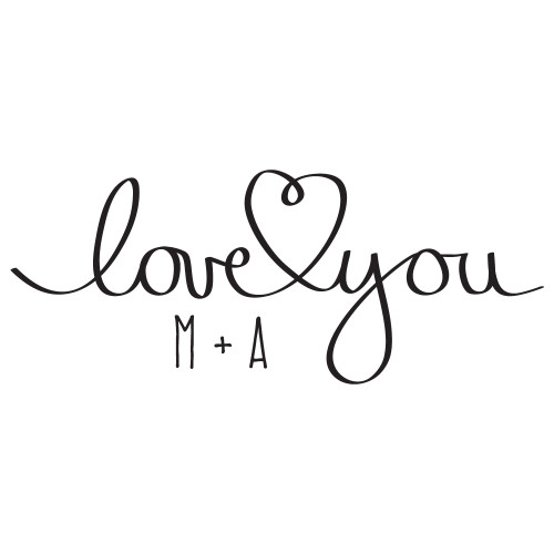 love you - Wall Design