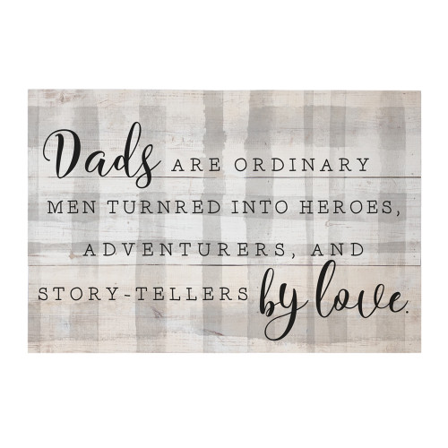 Dads Turned By Love PER - Rustic Pallet