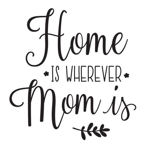 Home Is Wherever - Mini Design
