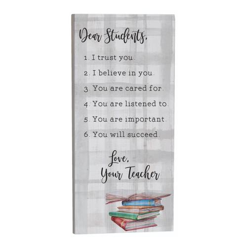 Dear Students - Inspire Board