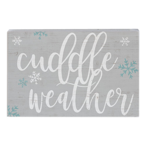 Cuddle Weather - Small Talk Rectangle