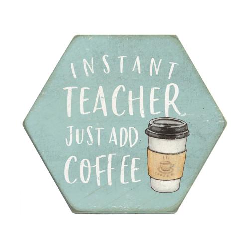 Add Coffee - Honeycomb Coasters