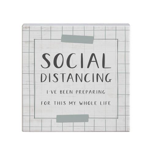 Social Distancing - Small Talk Square