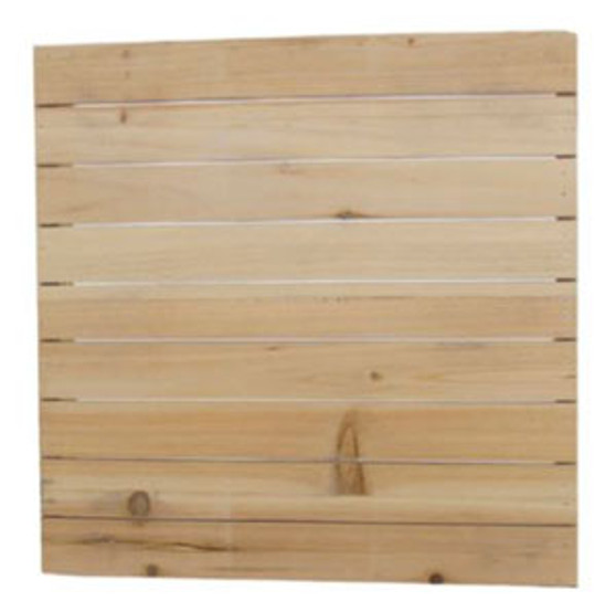 """Blank Slotted Board 14 x 14 x 2"""" Perfect substrate for our Square and Mini Vinyl Designs"""