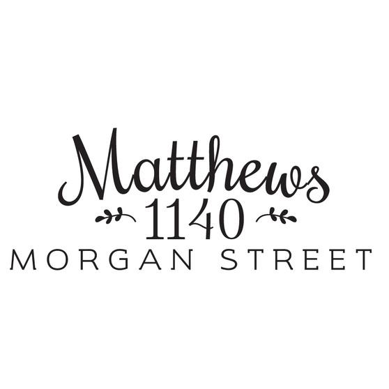 Matthews - Mailbox Design