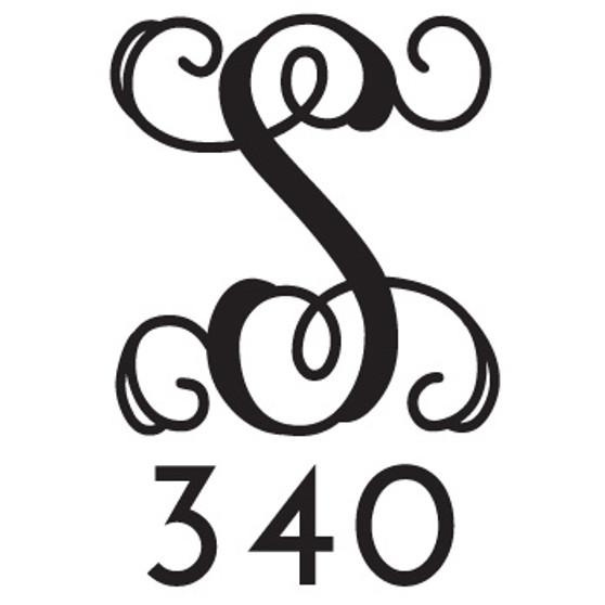 Monogram & Number Address PER - Mailbox Design