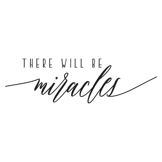 Miracles - Rectangle Design