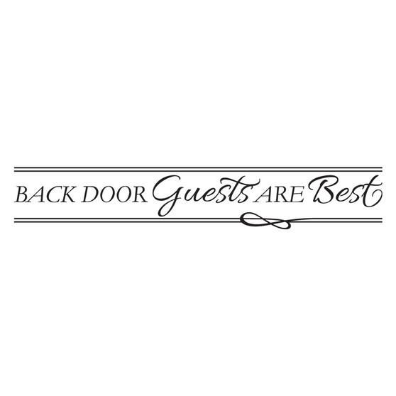 Back Door Guests - Wall Design