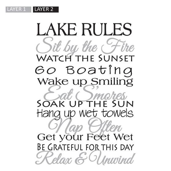 Lake Rules - Wall Design