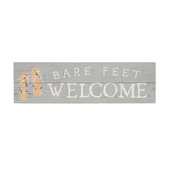 Bare Feet - Vintage Pallet Board