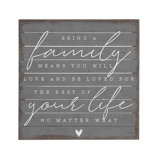Being A Family - Perfect Pallets