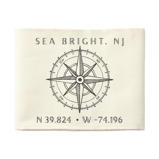 Coordinates Compass PER - Pillow Hugs