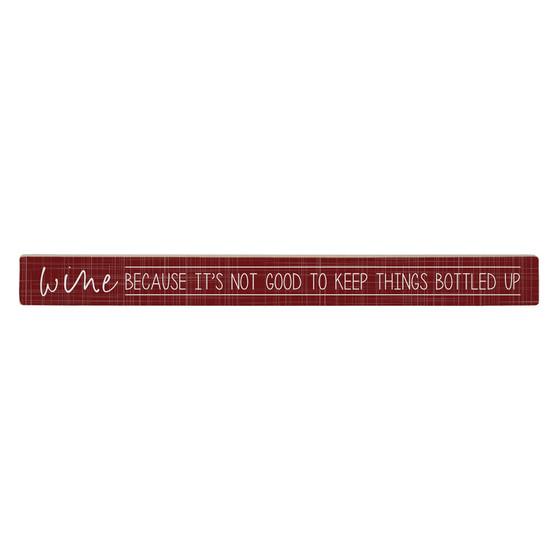 Wine Because - Talking Stick