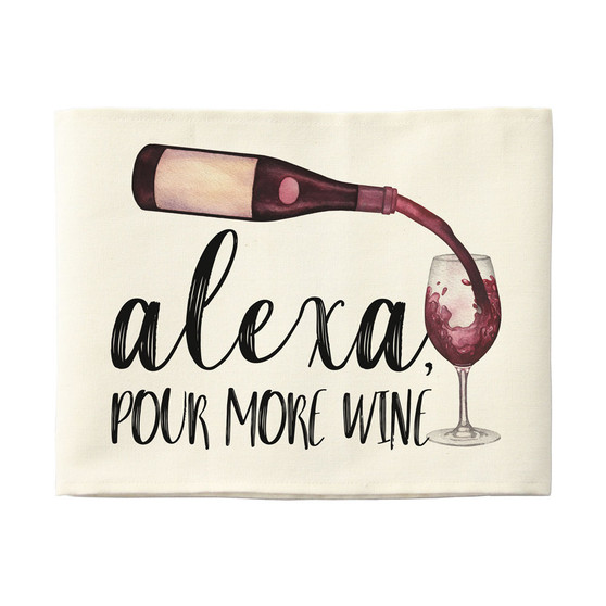 Alexa Pour Wine - Pillow Hugs