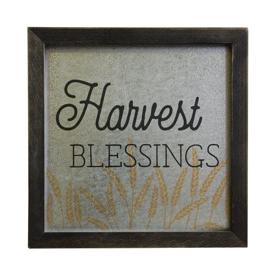 Harvest Blessings - Rustic Frame