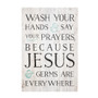 Wash Your Hands - Rustic Pallet