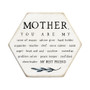 Mother You Are My PER - Honeycomb Coasters
